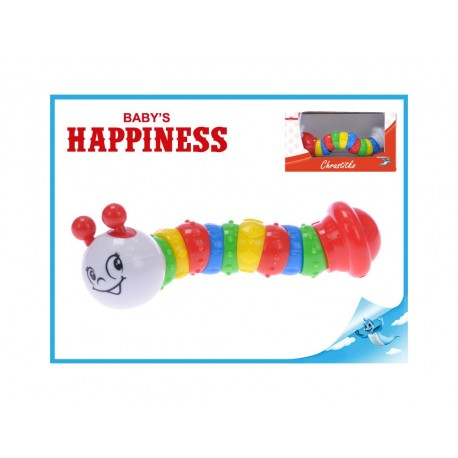 Chrastítko kloubové - 19 cm Baby´s Happiness
