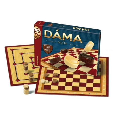 BONAPARTE Hra Dáma a mlýn v krabici