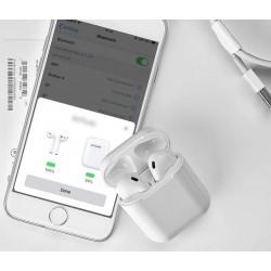 Bezdrátová sluchátka T6 / i666 TWS Mini Dobíjecí box Qi
