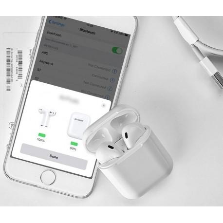 Bezdrátová sluchátka T6 TWS Mini Dobíjecí box Qi