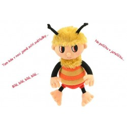 PLYŠ Příběhy Včelích medvídků Čmelda 26 cm zpívající