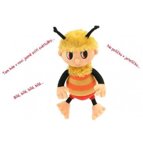 PLYŠ Příběhy Včelích medvídků Čmelda 29 cm zpívající