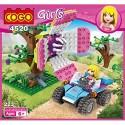COGO Girls Masožravá kytka 4520 223ks