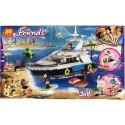 Lele Friends Loď a život na pláži 37083 621ks