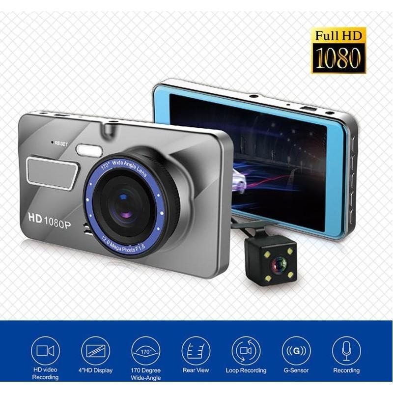 Autokamera + parkovací kamera DZL-200