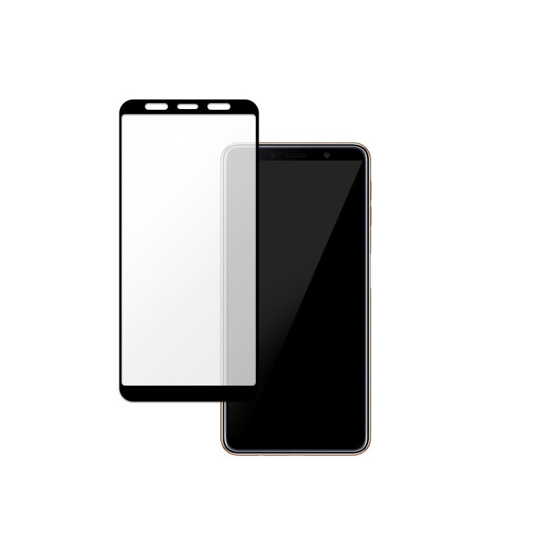 6D Tvrzené sklo pro Samsung Bílá A5 2018