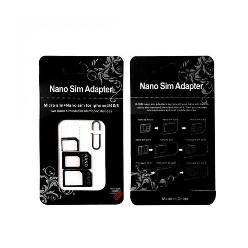 Adaptér nano sim (3v1)