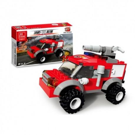 Jie Star Fire Rescue 3v1 Sprinker car 22025 78ks