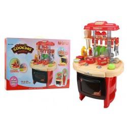 Dětská kuchyňka velká sada 26 dílů se zvuky