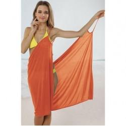 Plážové zavinovací šaty