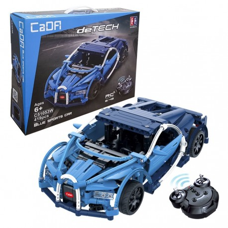 CaDa Sportovní auto deTech - stavebnice na dálkové ovládání - 419 ks