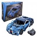 CaDFI Sportovní auto deTech - stavebnice na dálkové ovládání - 419 ks