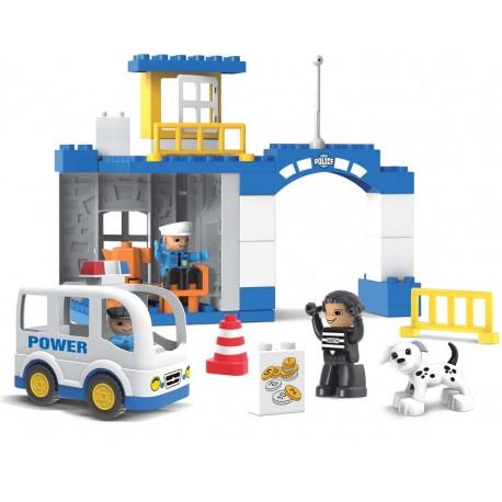 KHToys City Policejní stanice 36ks 188-113