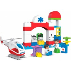 KHToys City Hospital Nemocnice 35ks 188-124