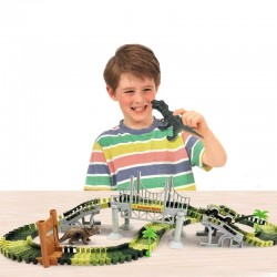 Dinosauří autodráha 144 dílků