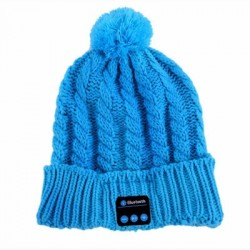 Bluetooth čepice - zimní se sluchátky
