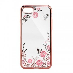 Pouzdro Back Case FLOWER iPhone X