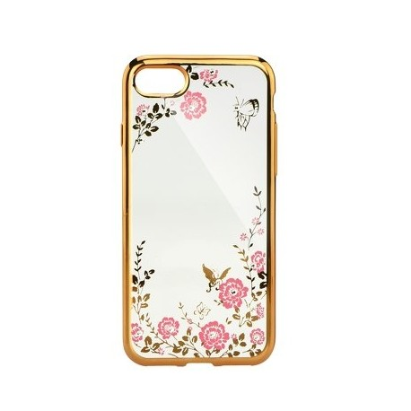 Pouzdro Back Case FLOWER iPhone X