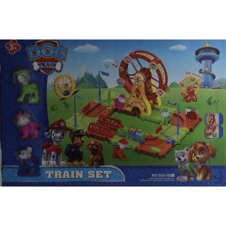 Dog Train se zábavním kolem