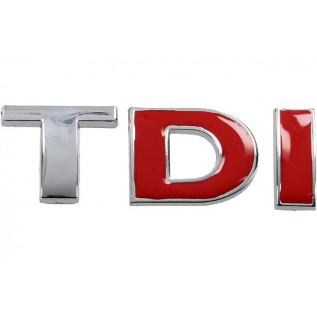 3D samolepka na auto TDI