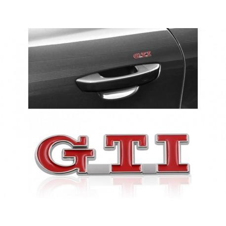 3D samolepka na auto GTI
