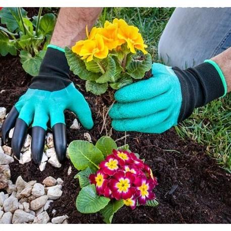 Zahradní rukavice s drápy Genie Gloves
