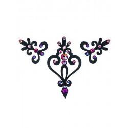 Dámské šperky na tělo Verona Černá Růžová
