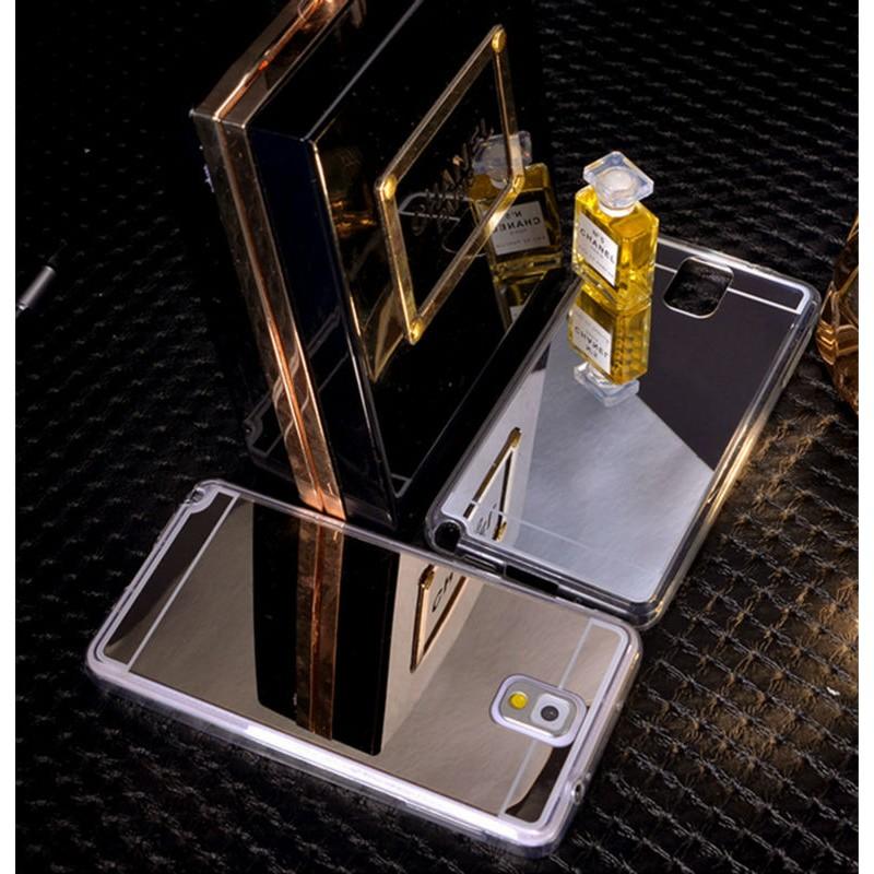 Silikonovy zrcadlový kryt Samsung A5, J5, A7, J7, S6, S6E, S7, S7E A5 Zlatá