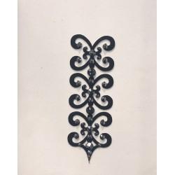 Dámské šperky na tělo Florence Černá - Černá