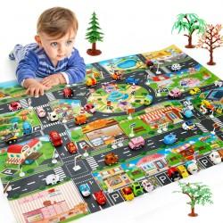 Hrací podložka - město