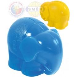 SMĚR Pokladnička (kasička) Slon plastová 2 barvy