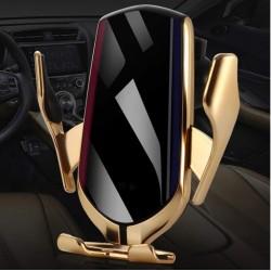 Luxusní držák bezdrátového nabíjení R1 (2v1)
