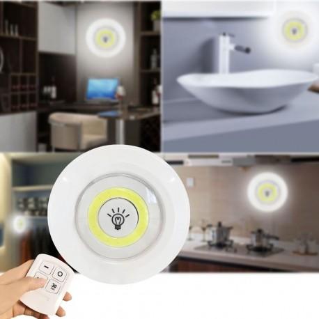 LED světlo s ovladačem 3ks