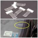 Držák parkovacích lístků na čelním skle