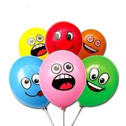 Balónky s obličejem