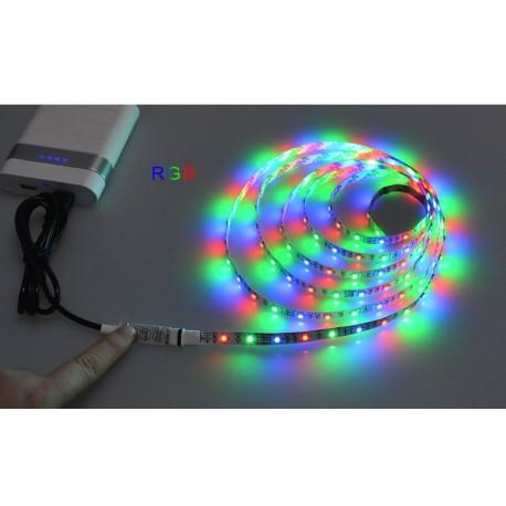USB Led světelný pásek 2m