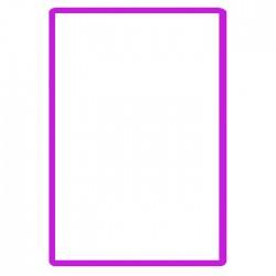 Zrcátko kosmetické obdélníkové 5,4 cm x7,5 cm vhodné do kabelky