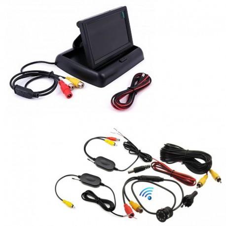 Set bezdrátová parkovací couvací kamera NKL-2  a LCD monitor