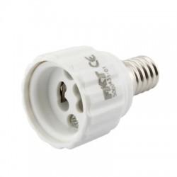 Redukce - objímka pro LED žárovky, E14 na GU10