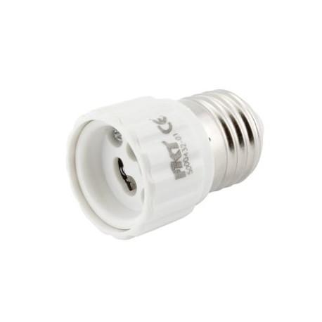 Redukce - objímka pro LED žárovky, E27 na GU10