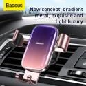 Baseus Držák telefonu do auta ventilace Pink SUYL-LG04