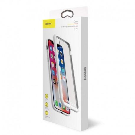 Baseus See-through Glass Protective Case iPhone X
