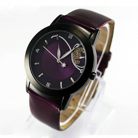 Dámské hodinky Xiniu fialové 1201