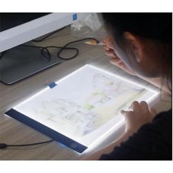 Svítící LED deska na obkreslování A4