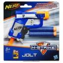 HASBRO NERF ELITE Kapesní dětská pistole N-Strike Jolt set se 2 náboji