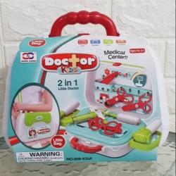 Kufřík Dětský doktor zdravotní středisko sada