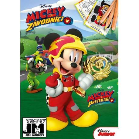 Omalovánky A5+ Disney Mickeyho klubík