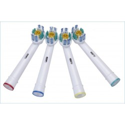 3D White Náhradní zubní kartáčky na ORAL-B univerzální - 4 ks EB-18A