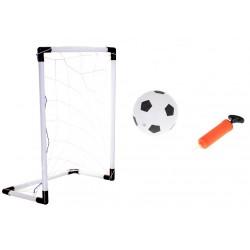 Brankový set s míčem a pumpičkou 62 x 42 x 28 cm