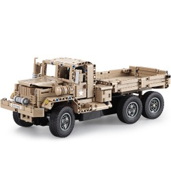 CaDFI Military Trucks C51042W  - stavebnice na dálkové ovládání - 545 ks